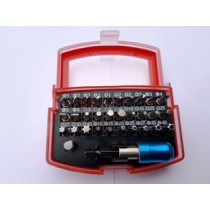 Bit box 32-delig met snelspan kop