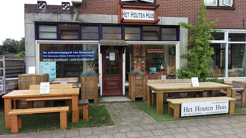 Het Houten Huis winkel